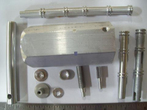 parts made from aluminum