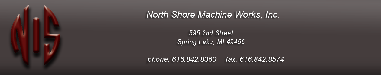 North Shore Machine Footer